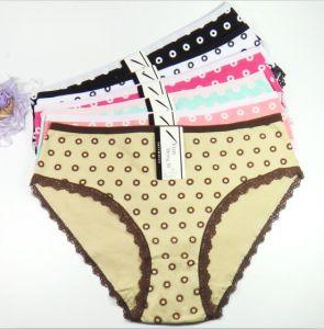 23e5bec08 Wholesale Dotted High Waist Cotton Lady′s Panties Mama Size Women Underwear