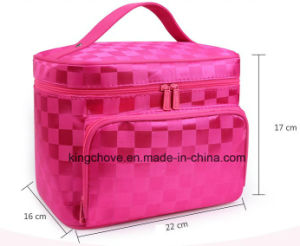 Printed Nylon Cosmetic Bag with Many Colors (KCCA026)