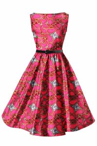 Fashion Style Ladies Clothing African Wax Printed Ankara Dresses pictures & photos