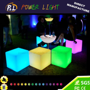Multi Color Changing LED Furniture Magic LED Cube pictures & photos