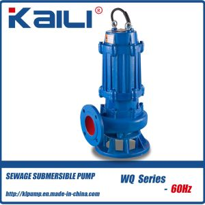 6Hz WQ Non-Clog Submersible Sewage water pump pictures & photos