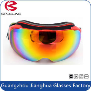 2016 Fashionable Cross-Country Skiing Goggles Optional Color TPU Frame Snowmobile Driving Goggles pictures & photos