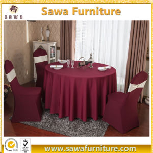32 Inch Tablecloth for Restaurant Wedding Banquet Table Clothes pictures & photos