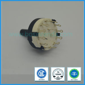 26mm Rotary Route Switch with Plastic Shaft for Electrical Equipment pictures & photos