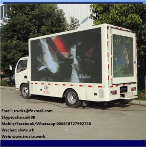 Dongfeng 4X2 Outdoor Mobile Advertising LED Display Truck pictures & photos