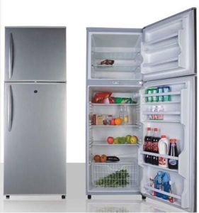 Double Door-up Freezer Refrigerator 518L pictures & photos