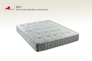 Roll up Pocket Spring With Tufted Design Mattress (RP3)