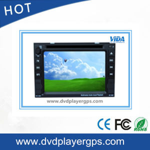 Universal Two-DIN Car DVD Player with 6.2 Inch Screen