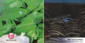 Plastic Double Shaft Shredder Machine pictures & photos