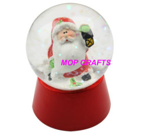 Polyresin Christmas of Resin Snow Globe Crafts pictures & photos
