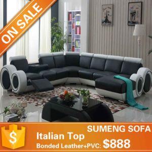 Stunning Italy Leather Recliner U Shape Sofa LV8099