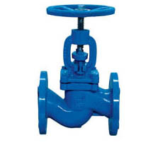 DIN Cast Iron Flanged Rising Stem Globe Valve