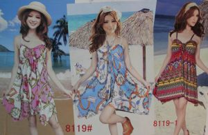 Ladies′ Latest Summer Design Dress