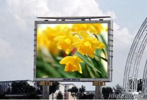 Aluminum / Iron Cabinet LED Panel Display Screen