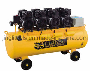 120L 640L/Min 3kw Oil Free Slient Air Compressor (LY-750-04) pictures & photos