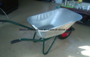 Strong Handle and Tray for Wheelbarrow /Wheel Barrow (WB6425G) pictures & photos
