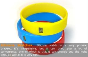Silicone Watch Band (HS-W2)