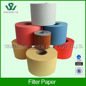 Wood Pulp Oil Filter Paper for Engine
