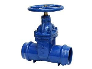 Socketed Ends Resilient Gate Valve for PVC Pipe pictures & photos