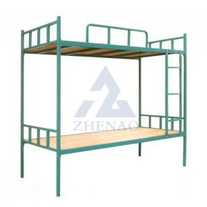China Direct Factory Sale Metal Dormitory Bed For Two People Steel