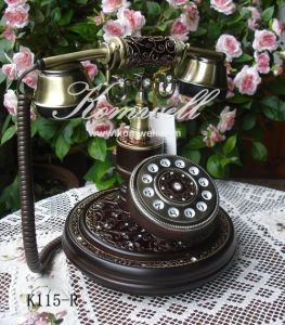 China Decoration Antique Telephone K115 China Decoration