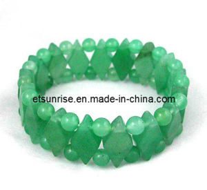 Semi Precious Stone Crystal Gemstone Aventurine Fashion Jewellery Bracelet pictures & photos