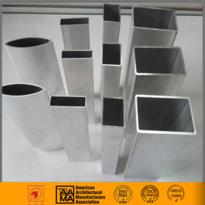Uncoated Aluminum Tubing Round and Rectangle 6061 6063 pictures & photos