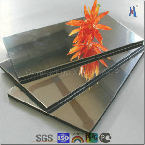 Fashion Mirror Aluminum Composite Panel with Cheapest Price pictures & photos