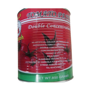 Canned Tomato Paste(850g)