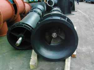 13m Head Low Speed Long-Axis Vertical Drainage Pump