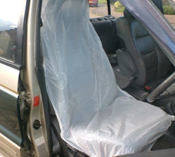 Plastic Paint Spray Seat Cover