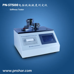 Automatic Cardboard Bending Stiffness Tester pictures & photos