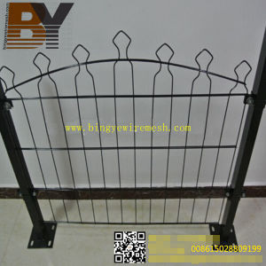 China safety Mesh Double Loop Wire Garden Fence China Garden Fence