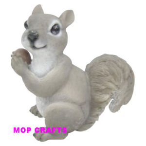 Resin Squirrel of Polyresin Squirrel Garden Ornament pictures & photos