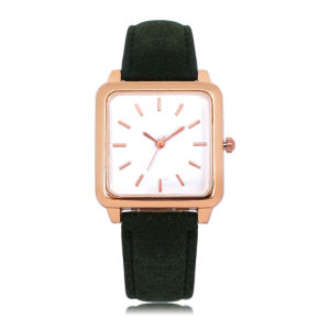 Fashion OEM Japan Custom Gift Square Women Watch Wrist Gift Watches (JY-AL118)