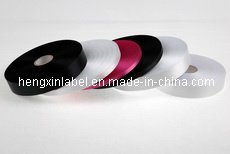 High Quality Double Side Polyester Satin Label Cloth for Thermal Transfer Printing