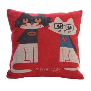 China Throw Pillow Cover Custom Printed Linen Sofa Seat Decorative ... adbe558fb