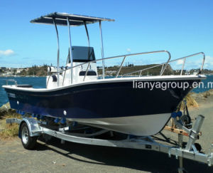 Liya 5.8m Panga Boat Commercial Fiberglass Boat for Sale pictures & photos