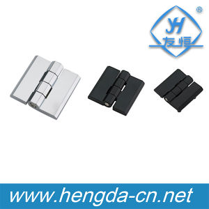 Zinc Alloy Chrome Plating Screw on Electrical Main Control Panel Hinge (YH9359) pictures & photos