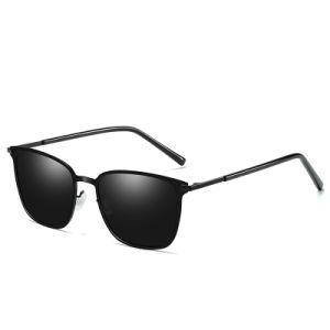 d69be74561b Italian Design Fashionable Flat Men 2018 Sunglasses with Polarized Lens
