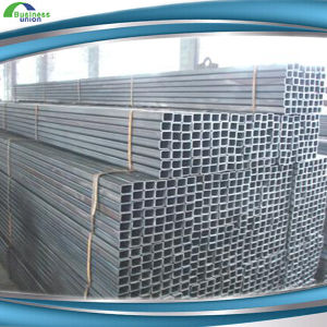 Steel Rectangle Tube A513 / A500 ASTM A500 Grade B Smooth Slight Oil Coating