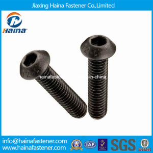 Gr12.9 Carbon Steel Hex Socket Pan Head Machine Screw pictures & photos