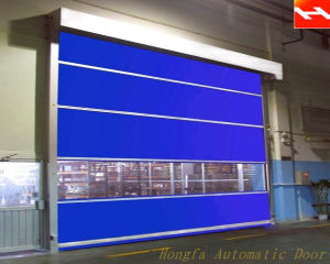 Industrial Interior Position Fast Doors Automatic PVC Door Prices Made in China Supplier (HF-J313) pictures & photos