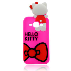 premium selection aea3e 61845 Hello Kitty Bow Silicone Cell Phone Case for Samsung Galaxy J5prime J7prime  J5 2017 (XSK-010)