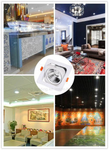 10W 120 Degree Square LED COB Lamp Ceiling Down Light pictures & photos