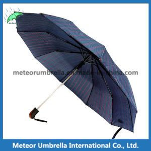 The Best Classic Mens Blue Folding Automatic Umbrella