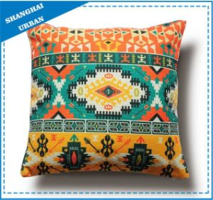 Home Decoration Colorful Totem Printed Throw Pillow pictures & photos