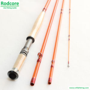 Yellow Yr11023-4 Classic Moderate Fiberglass Fly Rod pictures & photos