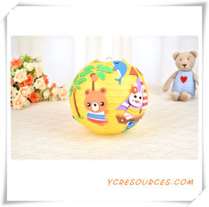 2015 Promotional Gift Children DIY Animal Paper Lantern Party Favor Hall Decoration Hanging Cartoon DIY Paper Lantern Best Sell (TY11012) pictures & photos