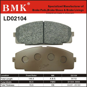 Toyota Brake Pads >> China High Quality Brake Pad D2104 For Toyota China Brake Pads